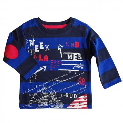 Large-striped t-shirt