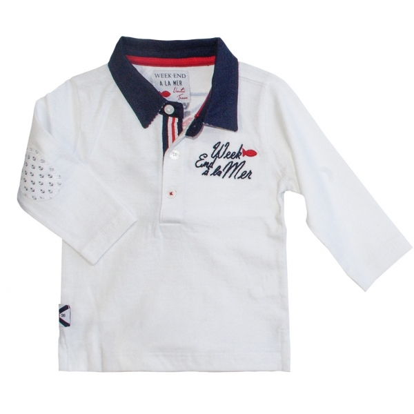 White polo-shirt