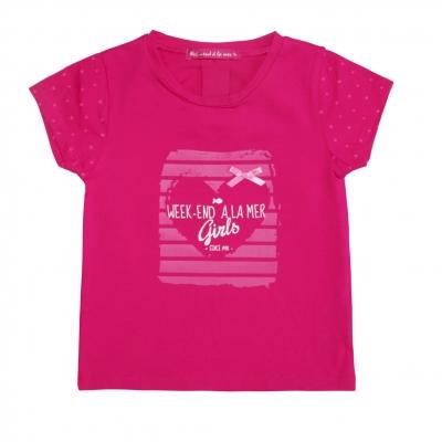 Tee-shirt framboise