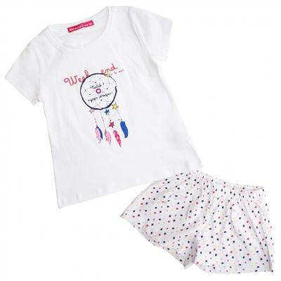 Ensemble pyjama blanc
