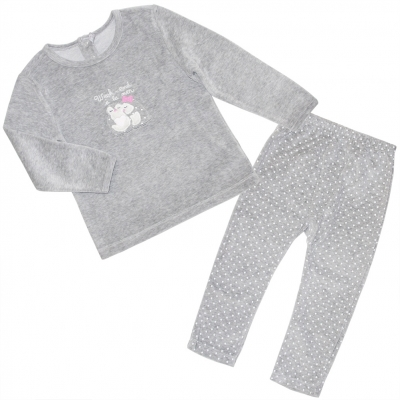 Grey pyjamas set