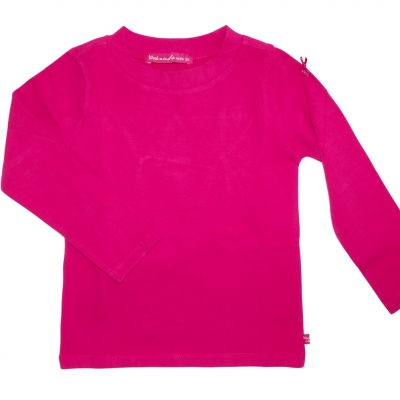 Raspberry polo neck jumper