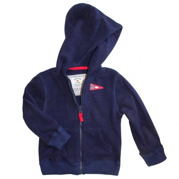 Hooded polar jacket
