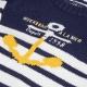 Stitch ecru navy sweater