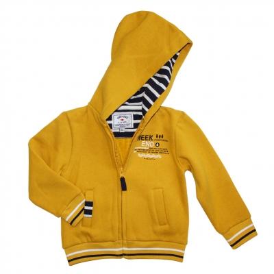 Yellow felt jacket