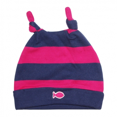 Large stripes hat