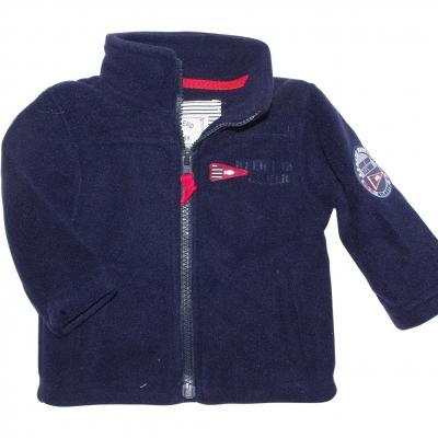 Navy polar sweater