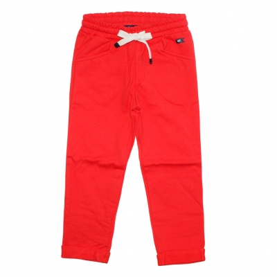 Orange jogging pants