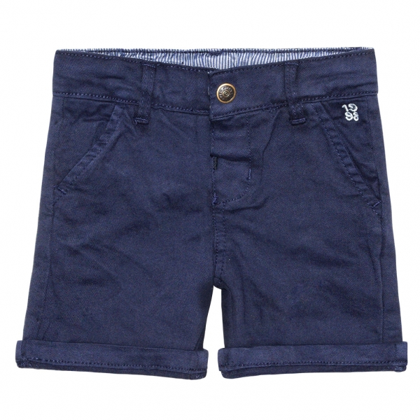 Cloth navy bermudas
