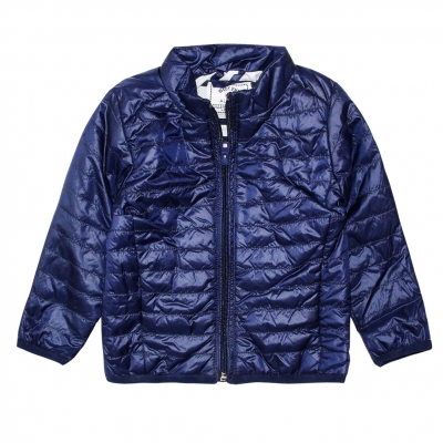 Navy down jacket