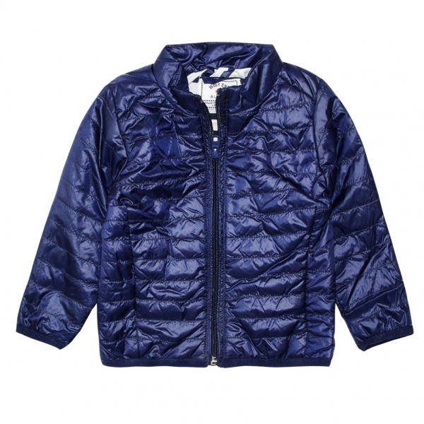 Navy down jacket