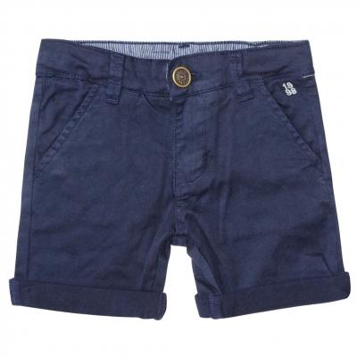 Cloth navy bermudas