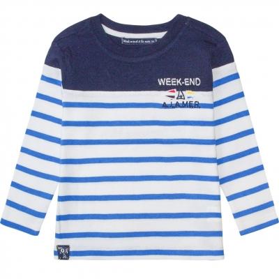 White blue sailor shirt