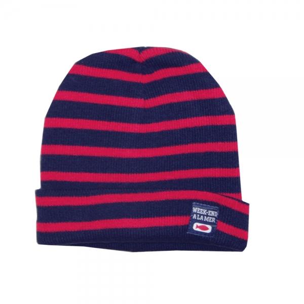 Hat Navy Red