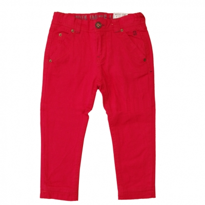 Red lined pants