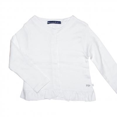 Gilet blanc coton