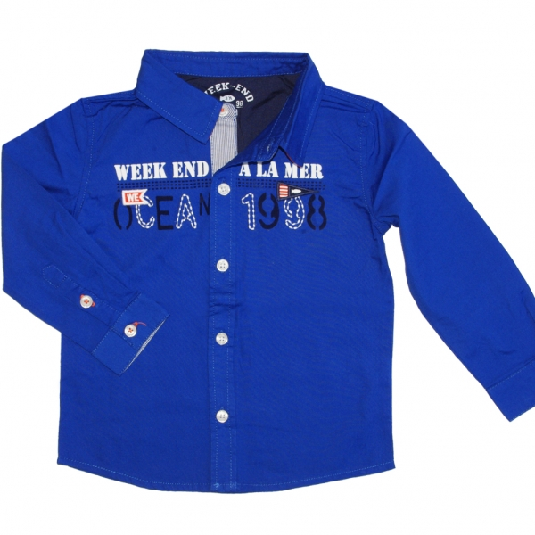Blue shirt