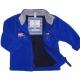 Blue polar sweater