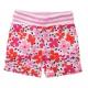 All over flower shorts
