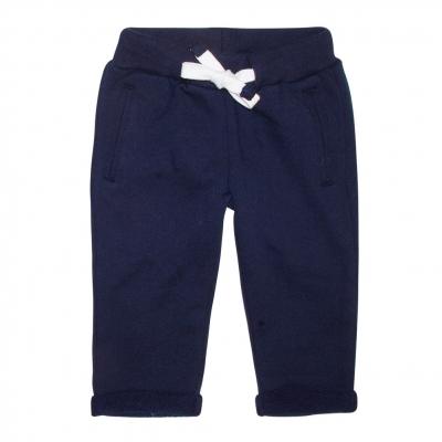 Felt navy pants