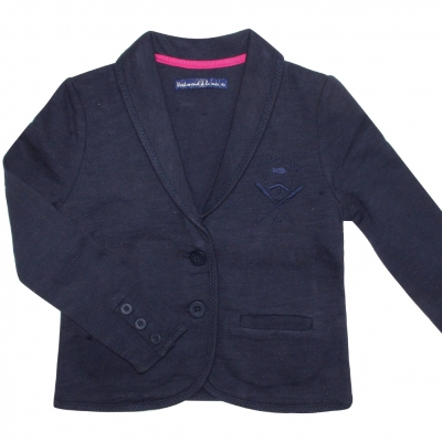 Navy girl jacket