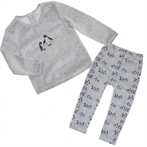 Ensemble pyjama gris
