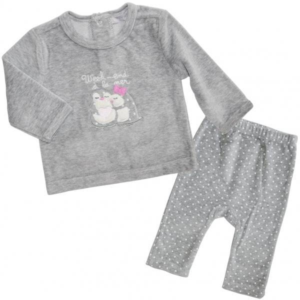 Grey pyjamas set