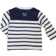 Ecru navy t-shirt