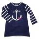 Stitch navy dress