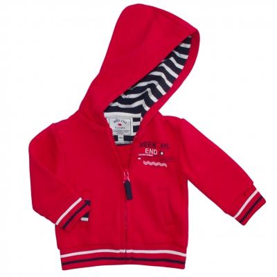Red felt jacket