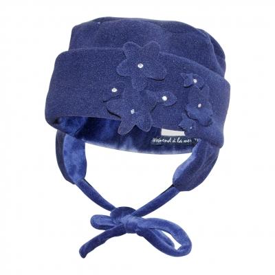 Chapeau polaire marine