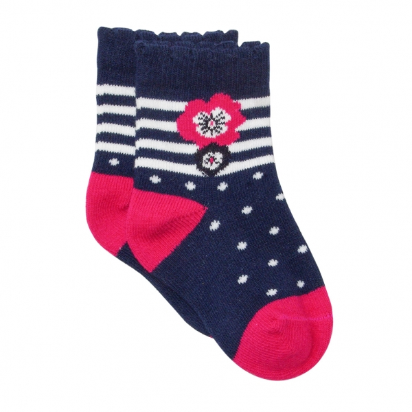 Chaussettes framboise