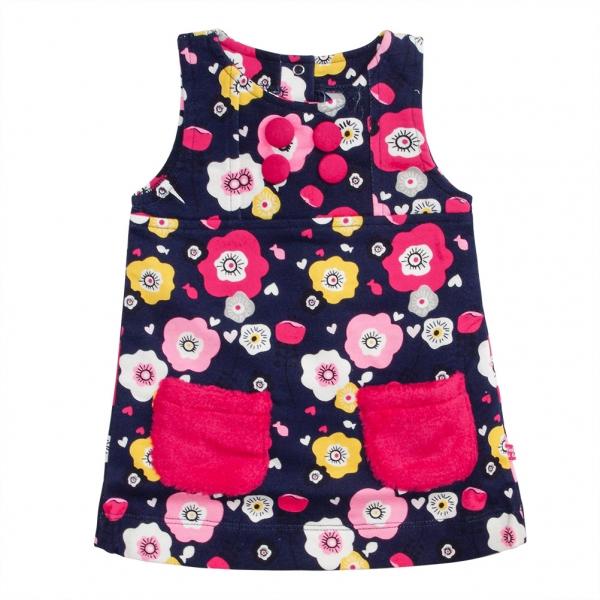 Flowery sleeveless dress