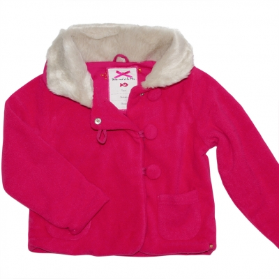 Raspberry polar jacket