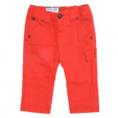 Pantalon orange doublé