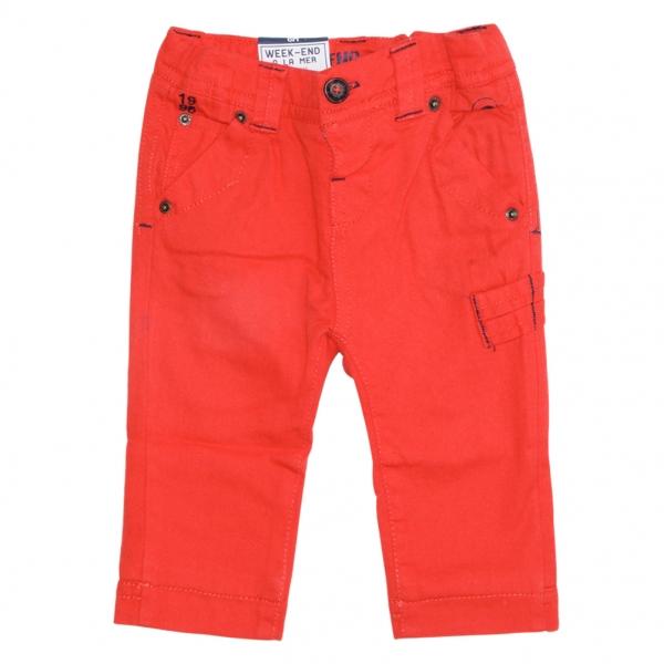 Orange lined pants