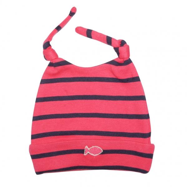 Pink navy hat