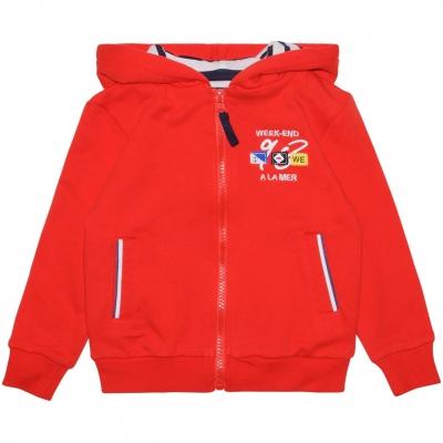 Orange felt jacket