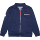 Navy felt jacket
