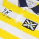 Polo blanc jaune