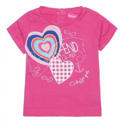 Tee-shirt rose