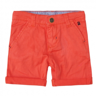 Cloth orange bermudas
