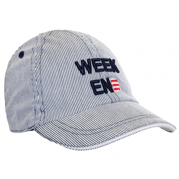 Fine stripes cap