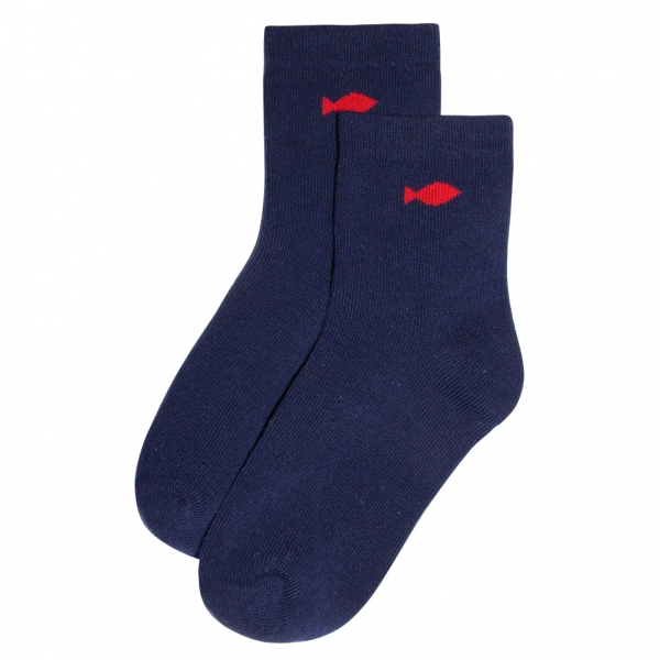 Chaussettes marine