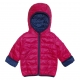 Dotted reversible down jacket