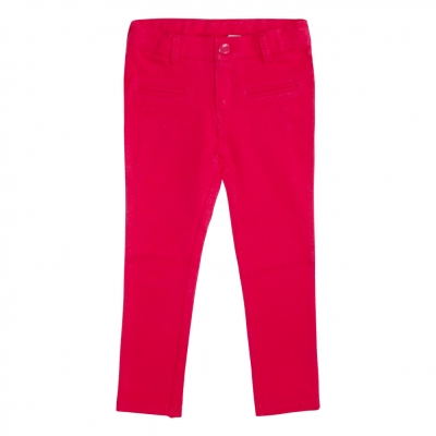 Cherry-colored jeggings