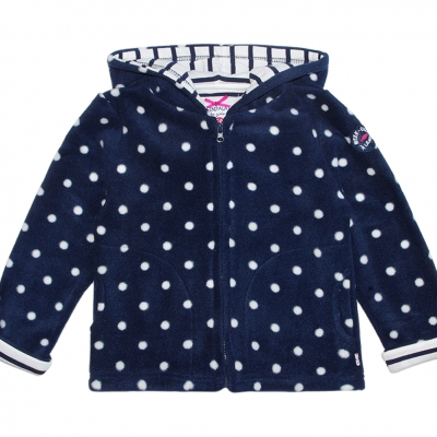 Dotted polar jacket