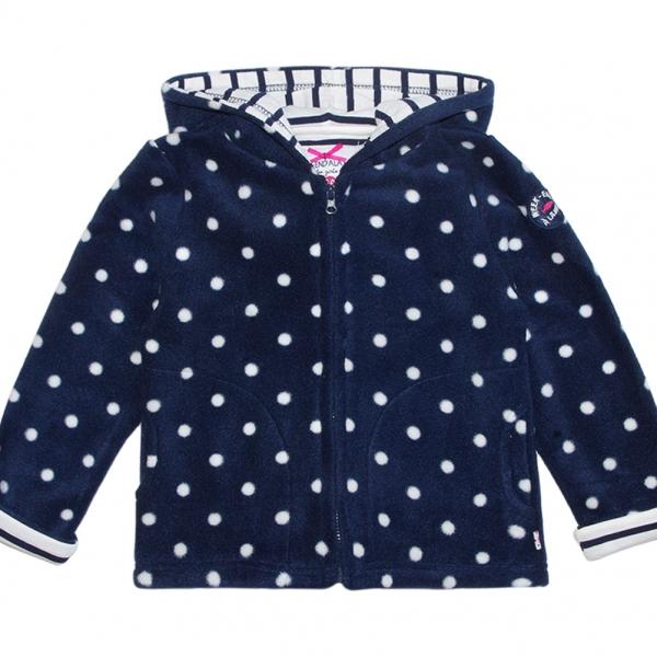Dotted polar jacket