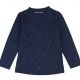 Navy t-shirt with glitter