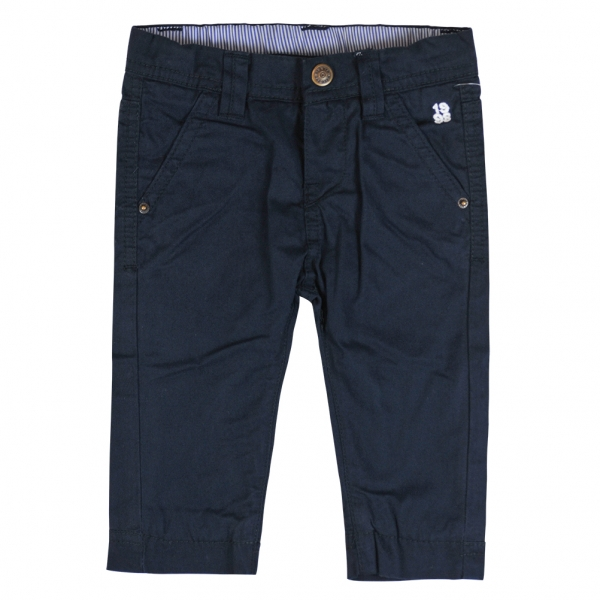 Lined navy pants